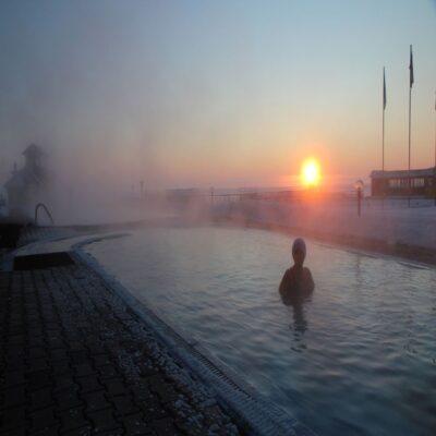 Релакс в горячем бассейне мыс Котельниковский