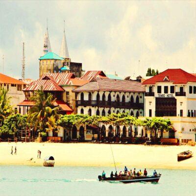 Стоун-Таун - столица Занзибара Танзания