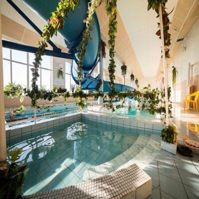 Тропическая купальня отель «Огни Мурманска» Мурманск Россия