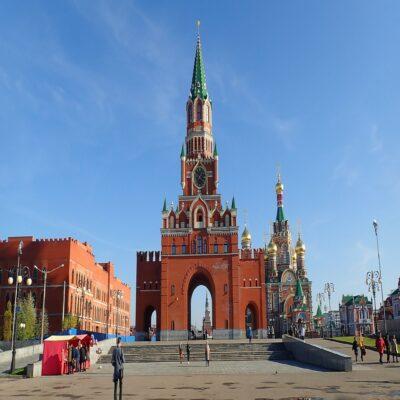 Царевококшайский Кремль в Йошкар-Оле Марий Эл