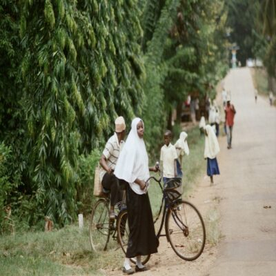 Школьники Занзибар Танзания