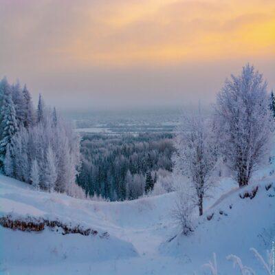 Долина реки Пинеги Архангельская область