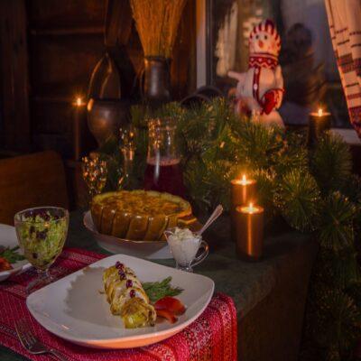 Традиционные поморские блюда Архангельская область туристический комплекс «Голубино»