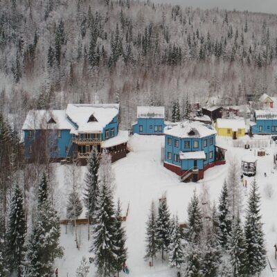 Туристический комплекс в парке «Голубино» 1 Архангельская область