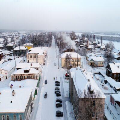 Уездный город Пинега 1 Архангельская область