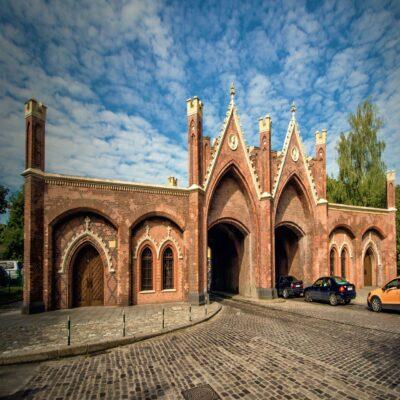 Бранденбургские ворота в Калининграде Калининградская область