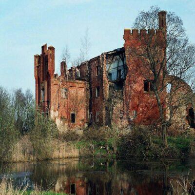 Замок Тевтонского ордена Шаакен в Некрасово Калининградская область