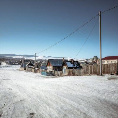 Поселок Хужир Байкал