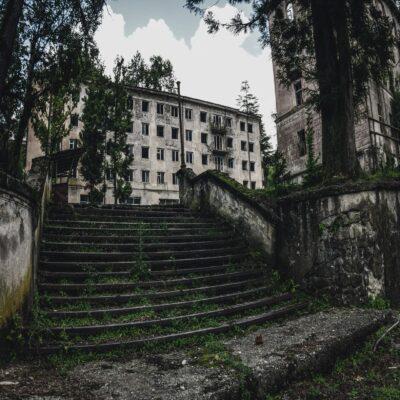 Заброшенный город Акармара Абхазия