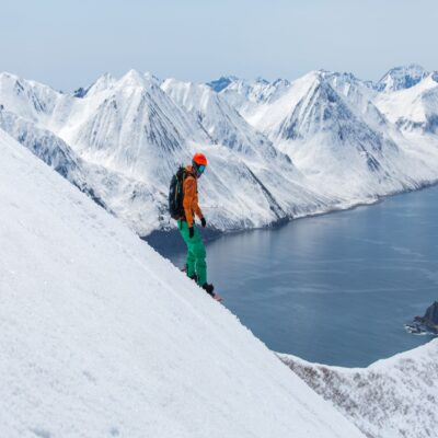 Катание с видом на фьорды Камчатка