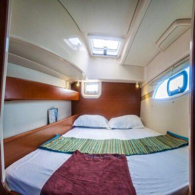 Каюта яхта Leopard 384 2015 Travel Regatta