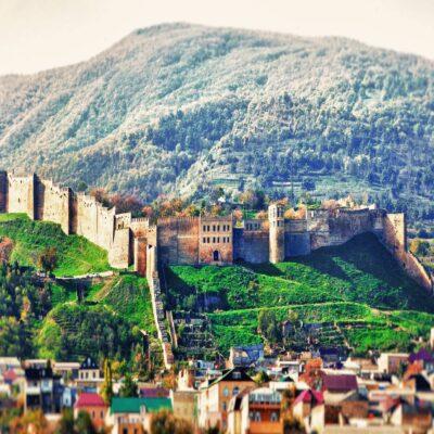 Крепость Нарын-Кала в Дербенте Дагестан