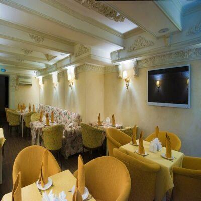Ресторан гостиница «Виктория» Иркутск Россия Байкалика