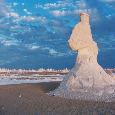 Сфинкс в Белой пустыне Бахария Египет