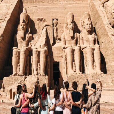 Храм в Абу-Симбеле Египет