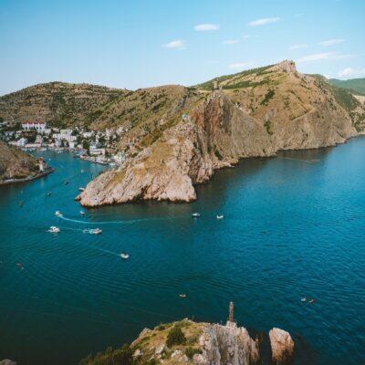 Бухта Балаклавы Крым
