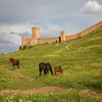 Генуэзская крепость в Судаке Крым