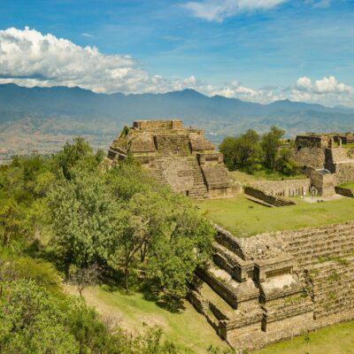 Монте-Альбан Оахака Мексика