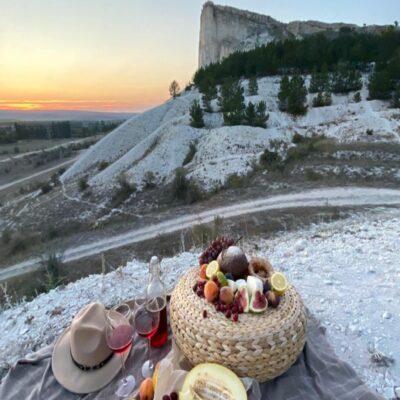 Пикник на обочине Крым