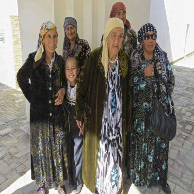 Бабушки Бухара Узбекистан