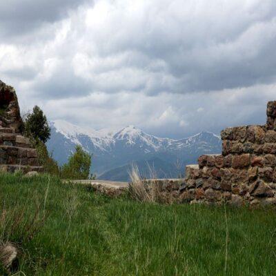 Вид из крепости Смбатаберд Армения