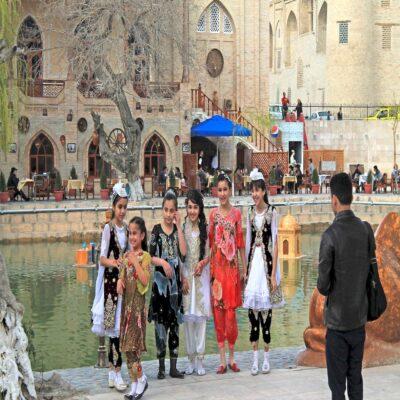 Девочки Бухара Узбекистан