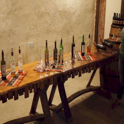 Дегустация вина в селе Арени Армения