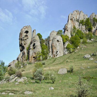 Долина приведений на горе Демерджи Крым