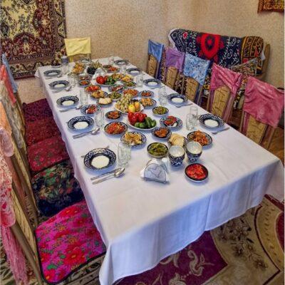 Домашний ресторан Узбекистан