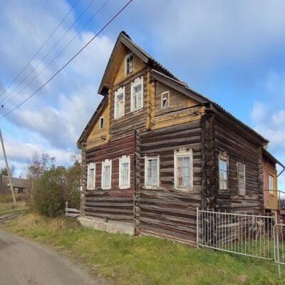 Дом в деревне Ялгуба Карелия