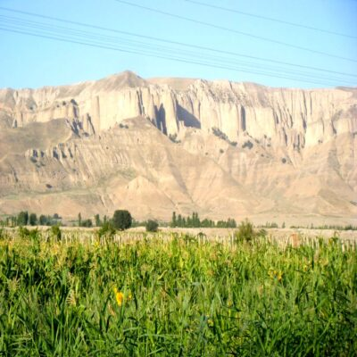 Дорога в Таджикистанский Пенджикент