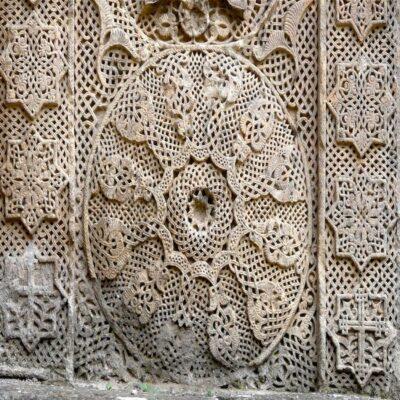 Каменные кружева Монастырь Гошаванк Армения