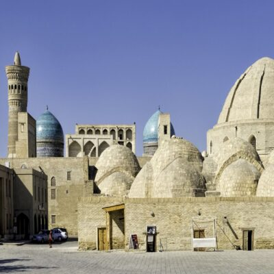 Купола Мири Араб Бухара Узбекистан