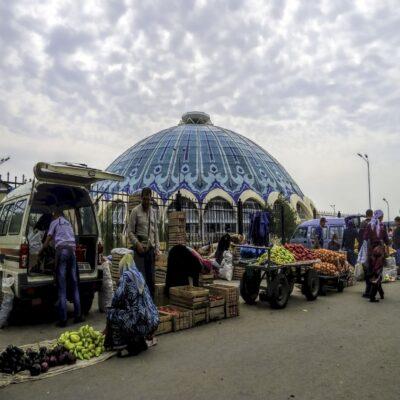 Купол базара в Ташкенте Узбекистан