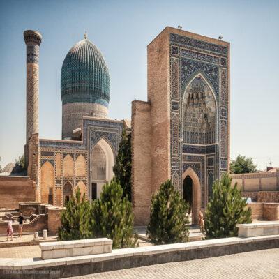 Мавзолей Гур Эмир в Самарканде Узбекистан