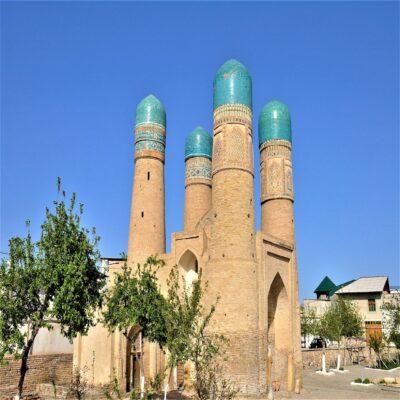 Медресе Чор Минор в Бухаре Узбекистан
