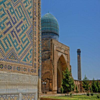 Мечеть Биби-Ханым в Самарканде Узбекистан
