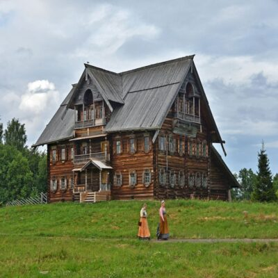 Музей заповедник Кижи Карелия