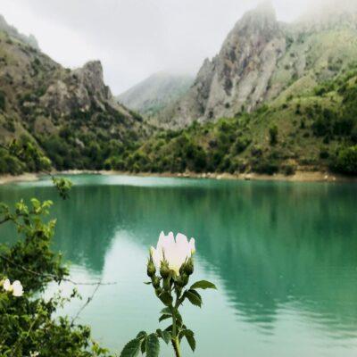 Озеро Панагия в Зеленогорье Крым