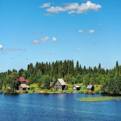 Онежские берега 1 Онежское озеро Карелия