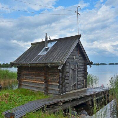Русская баня Кижи Карелия
