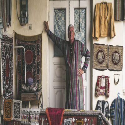 Традиционный узбекский дом Узбекистан