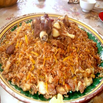 Узбекский плов Узбекистан