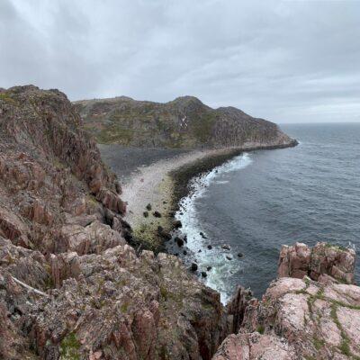 Берег Баренцева моря Териберка