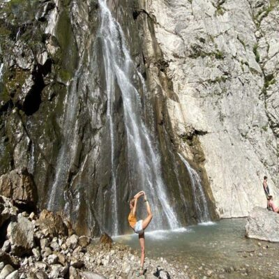 Гегский водопад Абхазия Йога