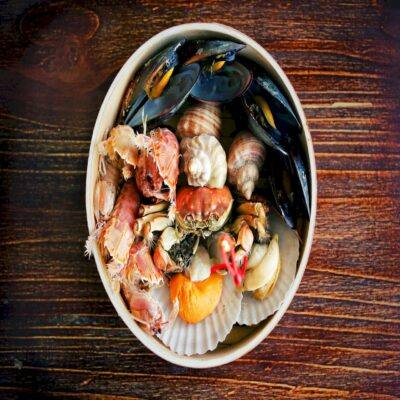 Дары моря Морепродукты