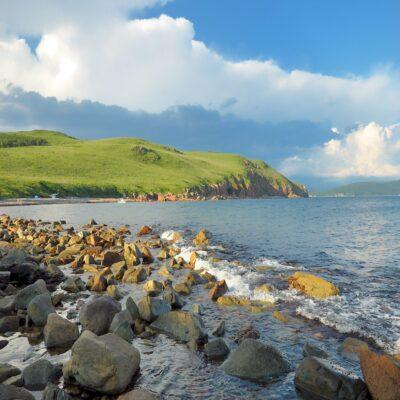 Остров Попова Приморье