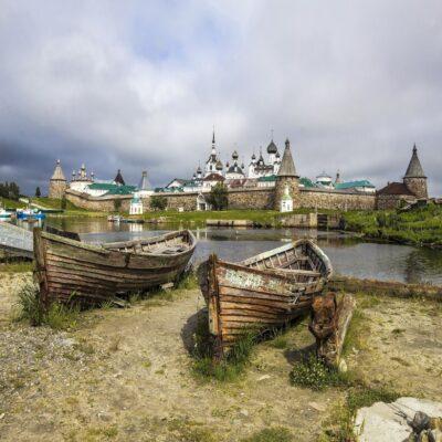 Панорама Соловков Беломорье