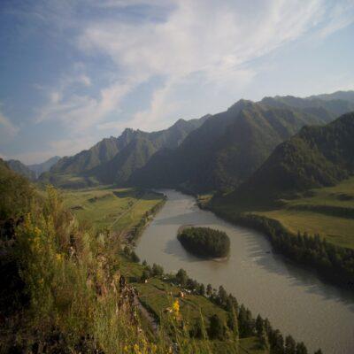 Ущелье Че-Чкыш Чемал Алтай