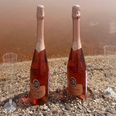 Rose на берегу розового озера Крым